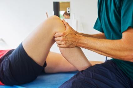 Post rehab knee